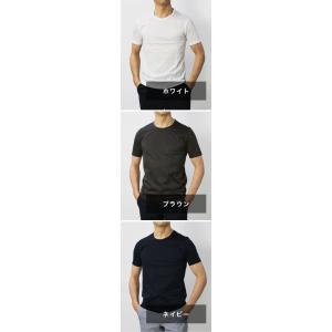グランサッソ / GRANSASSO / マーセライズ コットン シルケット加工 クルーネック Tシャツ / セール / 返品・交換不可|luccicare|09