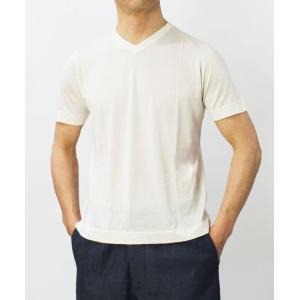 アッカ ノーヴェチンクエトレ / H953 / シルク Vネック Tシャツ|luccicare|02