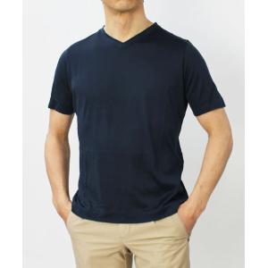 アッカ ノーヴェチンクエトレ / H953 / シルク Vネック Tシャツ|luccicare|03