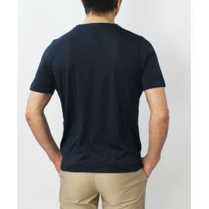 アッカ ノーヴェチンクエトレ / H953 / シルク Vネック Tシャツ|luccicare|05