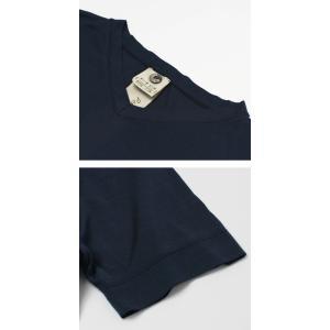 アッカ ノーヴェチンクエトレ / H953 / シルク Vネック Tシャツ|luccicare|06