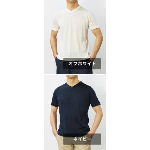 アッカ ノーヴェチンクエトレ / H953 / シルク Vネック Tシャツ / セール / 返品・交換不可|luccicare|08