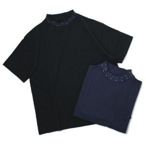 新作 CAL O LINE ( キャルオーライン )  / コットン モックネック Tシャツ|luccicare