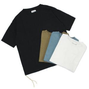 新作 CAL O LINE ( キャルオーライン )  / コットン ルーズフィット ポケット Tシャツ|luccicare