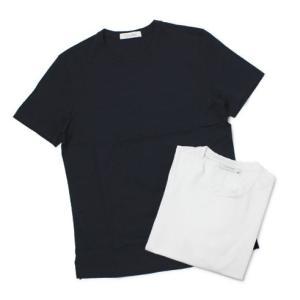 クルチアーニ / Cruciani / コットン シルケット加工 クルーネック Tシャツ / 返品・交換可能|luccicare