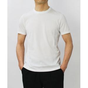 クルチアーニ / Cruciani / コットン シルケット加工 クルーネック Tシャツ / セール / 返品・交換不可|luccicare|02