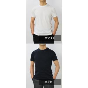 クルチアーニ / Cruciani / コットン シルケット加工 クルーネック Tシャツ / セール / 返品・交換不可|luccicare|08