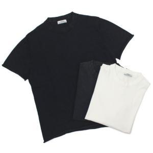 オリジナル ヴィンテージ スタイル / ORIGINAL VINTAGE STYLE / コットン クルーネック 半袖 ニット Tシャツ / 返品・交換可能|luccicare
