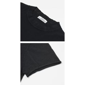 オリジナル ヴィンテージ スタイル / ORIGINAL VINTAGE STYLE / コットン クルーネック 半袖 ニット Tシャツ / 返品・交換可能|luccicare|07