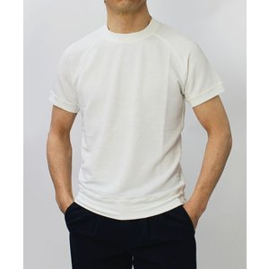 S/S 新作 ORIGINAL VINTAGE STYLE ( オリジナル ヴィンテージ スタイル ) / リネンコットン 製品染め ラグラン Tシャツ|luccicare|02