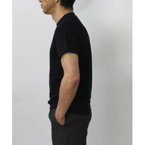 S/S 新作 ORIGINAL VINTAGE STYLE ( オリジナル ヴィンテージ スタイル ) / リネンコットン 製品染め ラグラン Tシャツ|luccicare|04