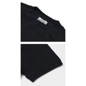 S/S 新作 ORIGINAL VINTAGE STYLE ( オリジナル ヴィンテージ スタイル ) / リネンコットン 製品染め ラグラン Tシャツ|luccicare|06