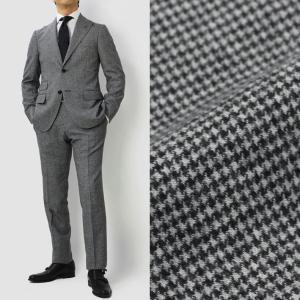 ザ ジジ / LEON × THE GIGI / Dream collab MODEL / DEGAS / ウール ハウンドトゥース ピークドラペル ワンプリーツ スーツ / セール / 返品・交換不可|luccicare