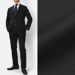 ラルディーニ / LARDINI / ウールストレッチ 3釦段返り ワンプリーツ スーツ / セール / 返品・交換不可 luccicare