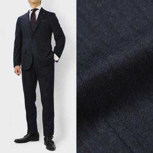 デ ペトリロ / De Petrillo / LINEA NAPOLI / NAPOLI / ウール ストライプ柄 ワンプリーツ スーツ / セール / 返品・交換不可|luccicare