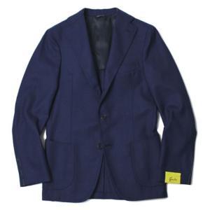 ジアーボ / G.abo / NEW NAPOLI / ウール 3B段返り シングル ジャケット / セール / 返品・交換不可|luccicare