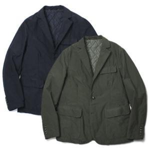 M.I.D.A. / MICHELACCI DANILO / 製品染め ストレッチ ナイロン 中綿入りジャケット / セール / 返品・交換不可|luccicare