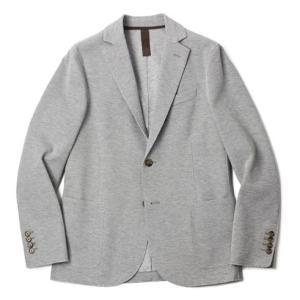 eleventy ( イレブンティ ) / コットン ジャージー 2B シングル ジャケット【グレー】【送料無料】|luccicare