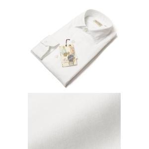 Finamore ( フィナモレ ) / LUIGI ( ルイージ ) / NEW VINTAGE / コットン セミワイドカラー シャツ【ホワイト】【送料無料】|luccicare