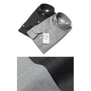 フィナモレ / Finamore / SERGIO / コットン カッタウェイ シャツ luccicare