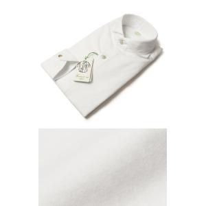 Finamore ( フィナモレ ) / SERGIO ( セルジオ ) / コットン ソフトネル カッタウェイ シャツ【ホワイト】【送料無料】|luccicare