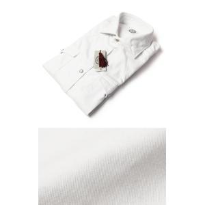 BOLZONELLA ( ボルゾネッラ ) / ホワイトデニム ウエスタン シャツ【ホワイト】【送料無料】|luccicare