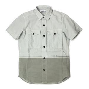 ストーン アイランド / STONE ISLAND / MARINA / コットン 半袖 シャツ|luccicare