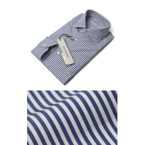 ギローバー / GUY ROVER / コットン ストライプ セミワイド ドレス シャツ / セール / 返品・交換不可|luccicare
