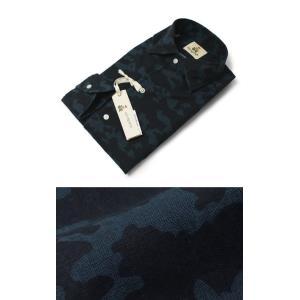 ギローバー / GUY ROVER / コットン カモフラプリント オープンカラー シャツ / セール / 返品・交換不可|luccicare