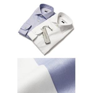 ギローバー / GUY ROVER / 120/2 コットン オックス セミワイドカラー ドレス シャツ / セール / 返品・交換不可|luccicare