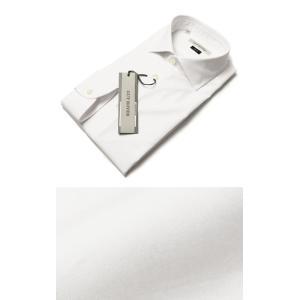GUY ROVER ( ギローバー ) / 120/2 コットン ブロード セミワイドカラー ドレス シャツ【ホワイト】【送料無料】|luccicare