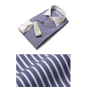 ギローバー / GUY ROVER / コットン ロンドンストライプ クレリック ドレス シャツ / セール / 返品・交換不可|luccicare