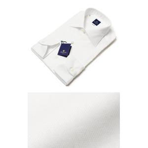 GIANNETTO ( ジャンネット ) / Blue Label / コットン セミワイド ドレスシャツ【ホワイト】【送料無料】|luccicare