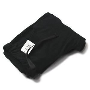 THING FABRICS×F/CE. ( エフ シー イー ) / 今治タオル製 イージー トラウザー パンツ【ブラック】【送料無料】|luccicare