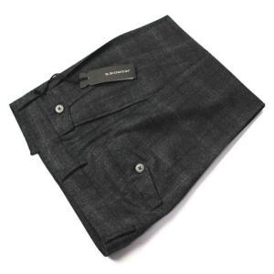 JEORDIE'S ( ジョルディーズ ) / ウール グレンチェック ツープリーツ パンツ【グレー】【送料無料】|luccicare