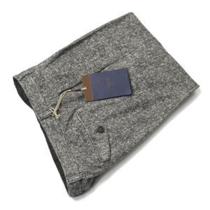 チルコロ 1901 / CIRCOLO 1901 / カシミヤタッチ ツィードホームスパンプリント コットン ジャージー ツープリーツ パンツ|luccicare