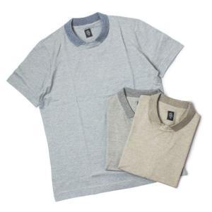 eleventy ( イレブンティ ) / コットン リネン 襟付き Tシャツ【ベージュ/グレー/ブルー】【送料無料】|luccicare