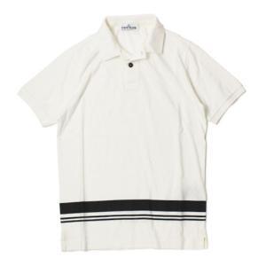 ストーン アイランド / STONE ISLAND / コットン 半袖 ポロシャツ|luccicare