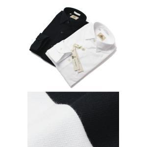 ギローバー / GUY ROVER / コットン 鹿の子 長袖 シャツ / セール / 返品・交換不可|luccicare