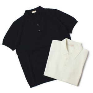アルテア / Altea / コットン 半袖 ニット ポロシャツ / セール / 返品・交換不可|luccicare