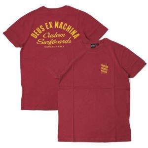 【ネコポス】デウス エクス マキナ / Deus ex Machina / コットン ロゴ Tシャツ / セール / 返品・交換不可 luccicare