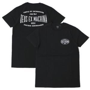 【ネコポス】デウス エクス マキナ / Deus ex Machina / コットン ロゴ Tシャツ / セール / 返品・交換不可|luccicare