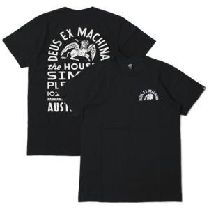 【ネコポス】デウス エクス マキナ / Deus ex Machina / AUSTRALIA SHOP ロゴ Tシャツ / セール / 返品・交換不可|luccicare