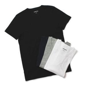 スリードッツ / three dots / Keith / コットン Vネック Tシャツ / セール / 返品・交換不可|luccicare