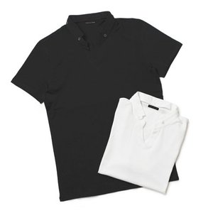 パトリツィア ペペ / PATRIZIA PEPE / コットン 変形スキッパー ポロ Tシャツ / セール / 返品・交換不可|luccicare