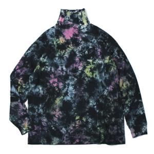 キャルオーライン / CAL O LINE  / タイダイ タートルネック ビッグ Tシャツ / セール / 返品・交換不可 luccicare