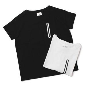 F/CE. ( エフ シー イー ) / COOL MAX ZIP ポケット Tシャツ 【ホワイト/ブラック】【送料無料】|luccicare