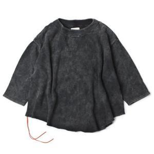 キャルオーライン / CAL O LINE  / コットン 裏毛スウェット ドロップショルダー Tシャツ / セール / 返品・交換不可|luccicare