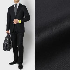 ガボ / Gabo / ピュアウール サージ 3B段返り シングル スーツ / セール / 返品・交換不可|luccicare