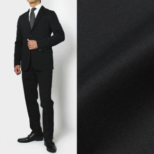 BOGLIOLI ( ボリオリ ) / CASATI ( カサーティ ) / ウール サージ ストレッチ 2B ノータック スーツ【ブラック】【送料無料】|luccicare
